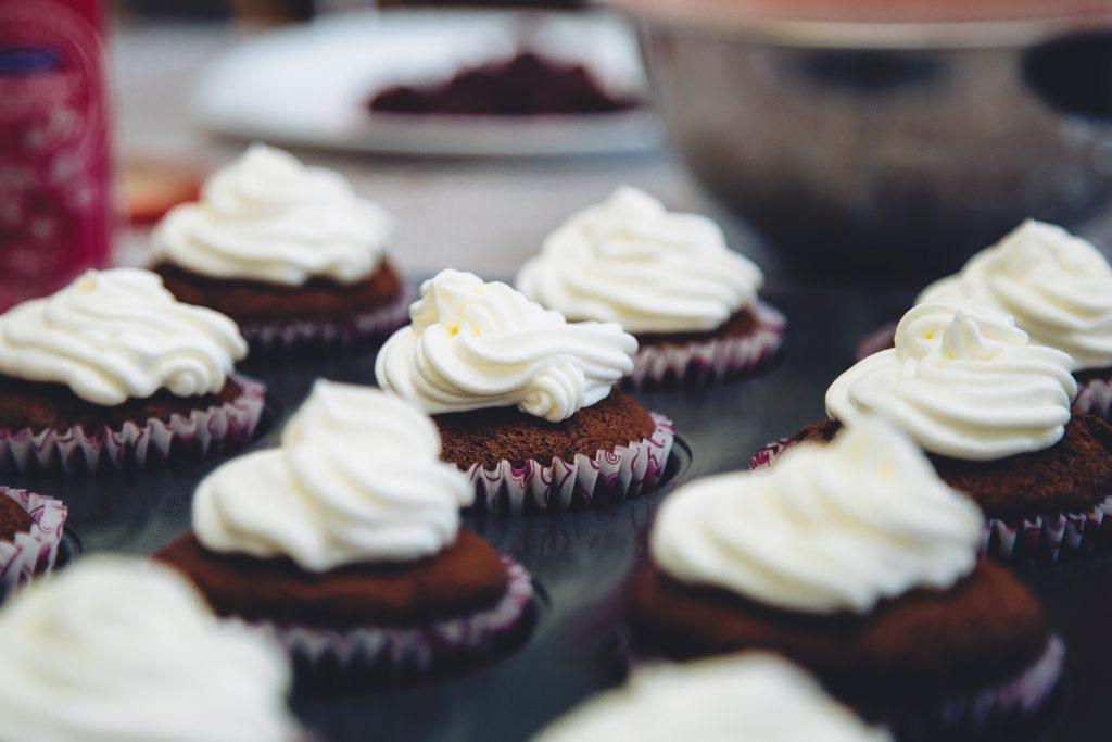 gluten, muffins, baking, pastries, cake