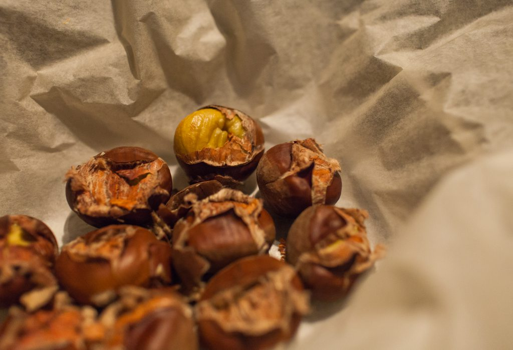 tamme kastanjes poffen over herfst chestnuts autumn recept
