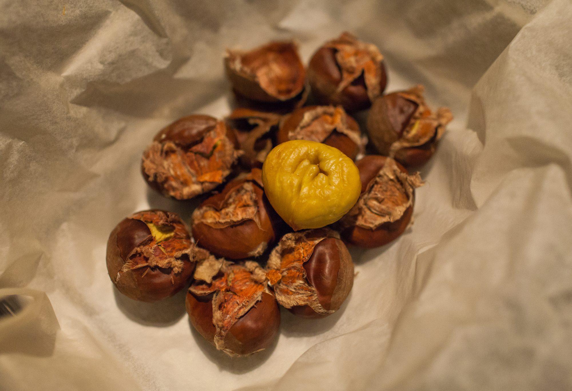 tamme kastanjes poffen over herfst chestnuts autumn recept