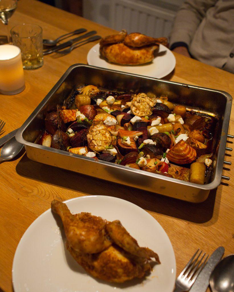 braadslede kip oven groenten gegrild herfst recept glutenvrij