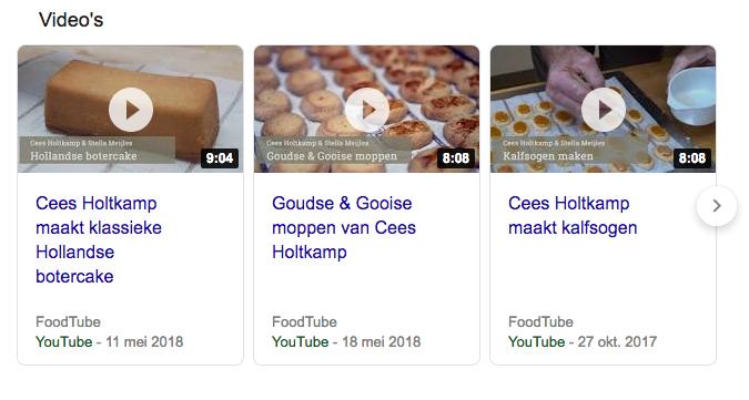 Cees Holtkamp Foodtube